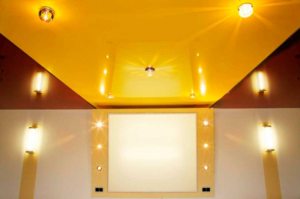 авторитета натяжные потолки картинки для зала глянцевый одноярусный вот такая чудесная